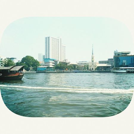 Chao Praya River View No.2 Taking Photos