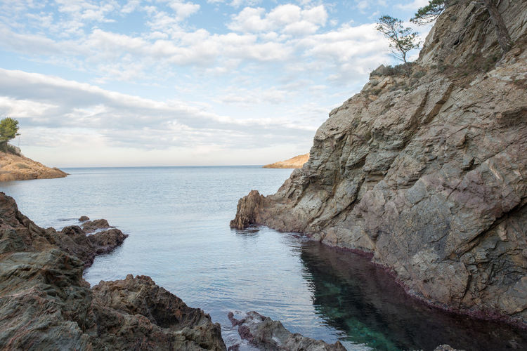 Costa Brava Girona Nature SPAIN Beauty In Nature Cliff Day Horizon Over Water Landscape Mountain Nature No People Ocean Outdoors Rock Rock - Object Rock Formation Scenery Scenics Sea Sky Tranquil Scene Tranquility Water