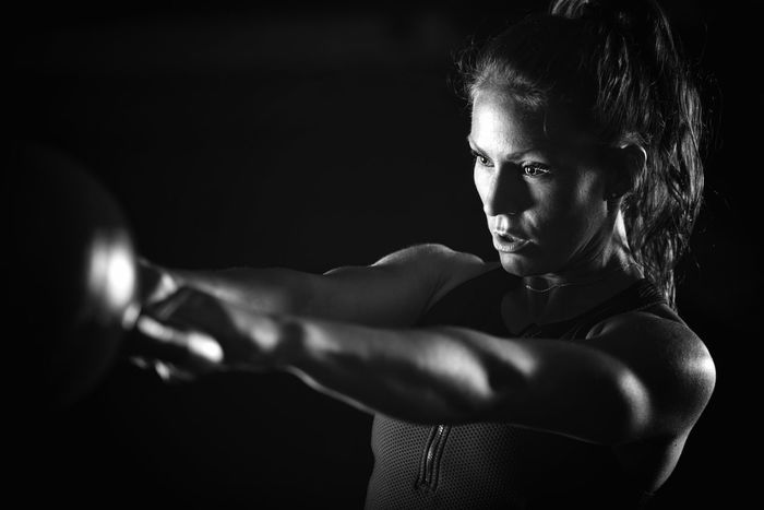 Cross training fitness Black & White Black Background Cross Exercise Exercising Girl Power Lifting Lifting Weights Squat Woman Black And White Cross Training Fit Fitness Girl Gym Gym Time Healthy Lifestyle Kettlebell  Lifestyles Strength Strength Training Training Weights Workout
