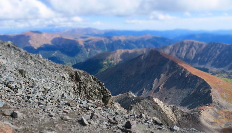 14er 14er Hiking Grays And Torreys Cloud - Sky Colorado Mountains Fourteeners Landscape Mountain Mountain Peak Mountain Range Mountains Nature Outdoors