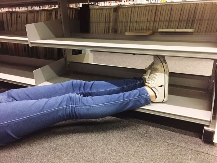 Human Leg Shelf Bookshelf Art Shoes