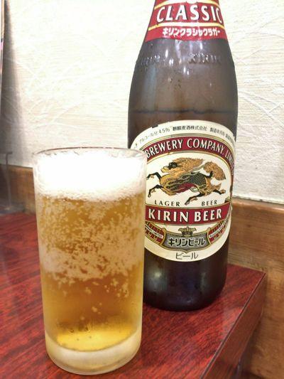 クラシックラガーを頂き、久しぶりに( ^ ^ )/■ Beer 麦酒 Beer Time