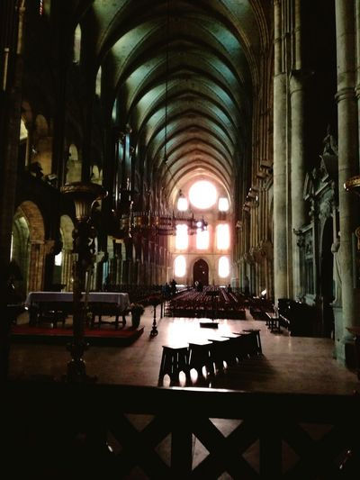 Church Spirituality Indoors  Reims Basilique Saint Remi