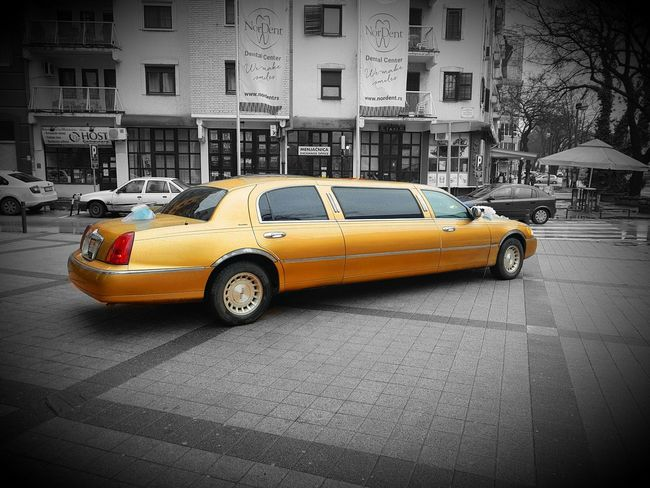 Yellow Taxi Taxi Car Street Transportation City Street City