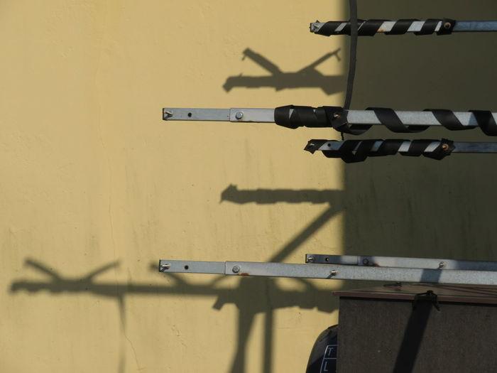 Shadow Sunlight Metal Close-up Hinge