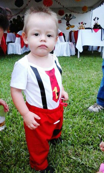 Mi bello hijito Esteban 1ercumpleaniosmisuco