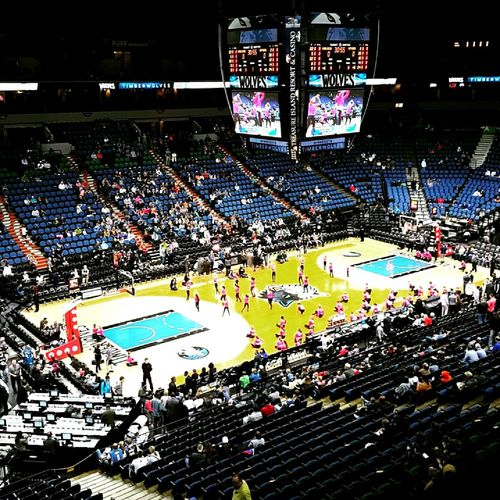 Minnesota Minnesota Timberwolves Target Center Minneapolis Arena Basketball NBA