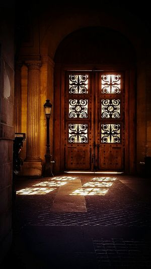Light Light And Shadow Light In The Darkness Light Trail Door Louvremuseum Built Structure Indoors  Architecture Light And Shadows Sunray Of Light Paris ❤ Windows