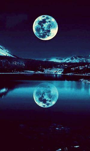 Big Moon In Karooun Lebanon