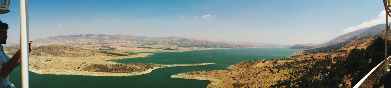 بحيرة قرعون Panorama Bekaa LiveLoveLebanon
