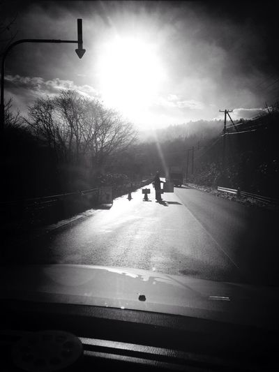 Eye4photography IPhoneography On The Road Blackandwhite