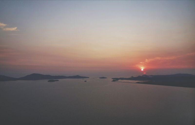 Korea Photos Clouds And Sky Sunset Silhouettes Sunpark Cloudpark From An Airplane Window Streamzoofamily 43 Golden Moments