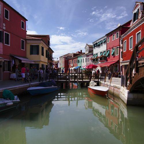 Burano, venezia (italy) Burano Buranoisland Venezia Venice Veniceitaly Calle Water Canale  Color Colorful Colorhouse ColorHouses Canon Canon7d