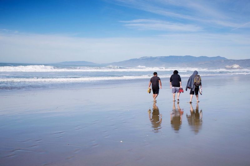Valentine's Day at Ocean Beach. Beach Enjoying The View San Francisco EyeEm Best Shots Water Reflections Ocean