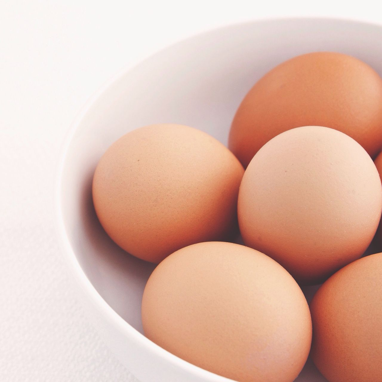 Fresh Eggs In Bowl
