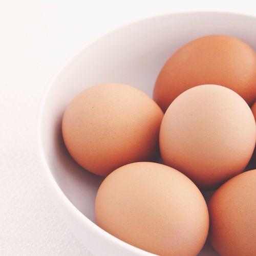 White bowl, brown eggs Negative Space EyeEm Bestsellers