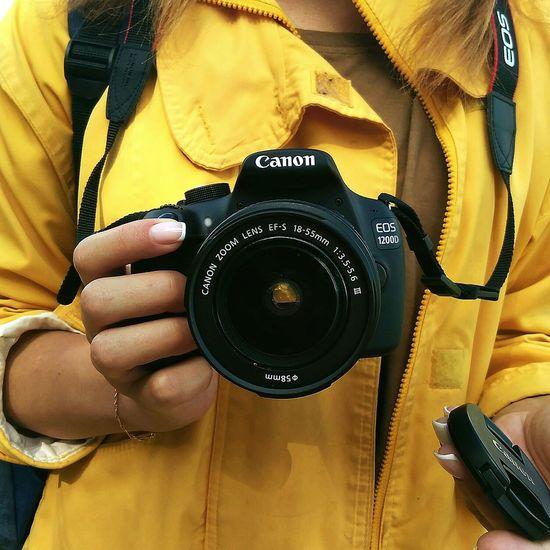 фотоаппарат Canon Yellow желтый First Eyeem Photo