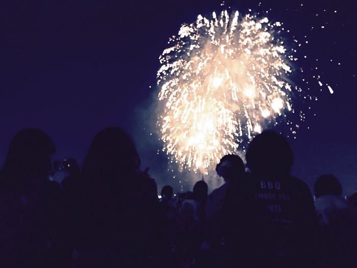 足立区花火大会 花火 IPhone 6s Fireworks