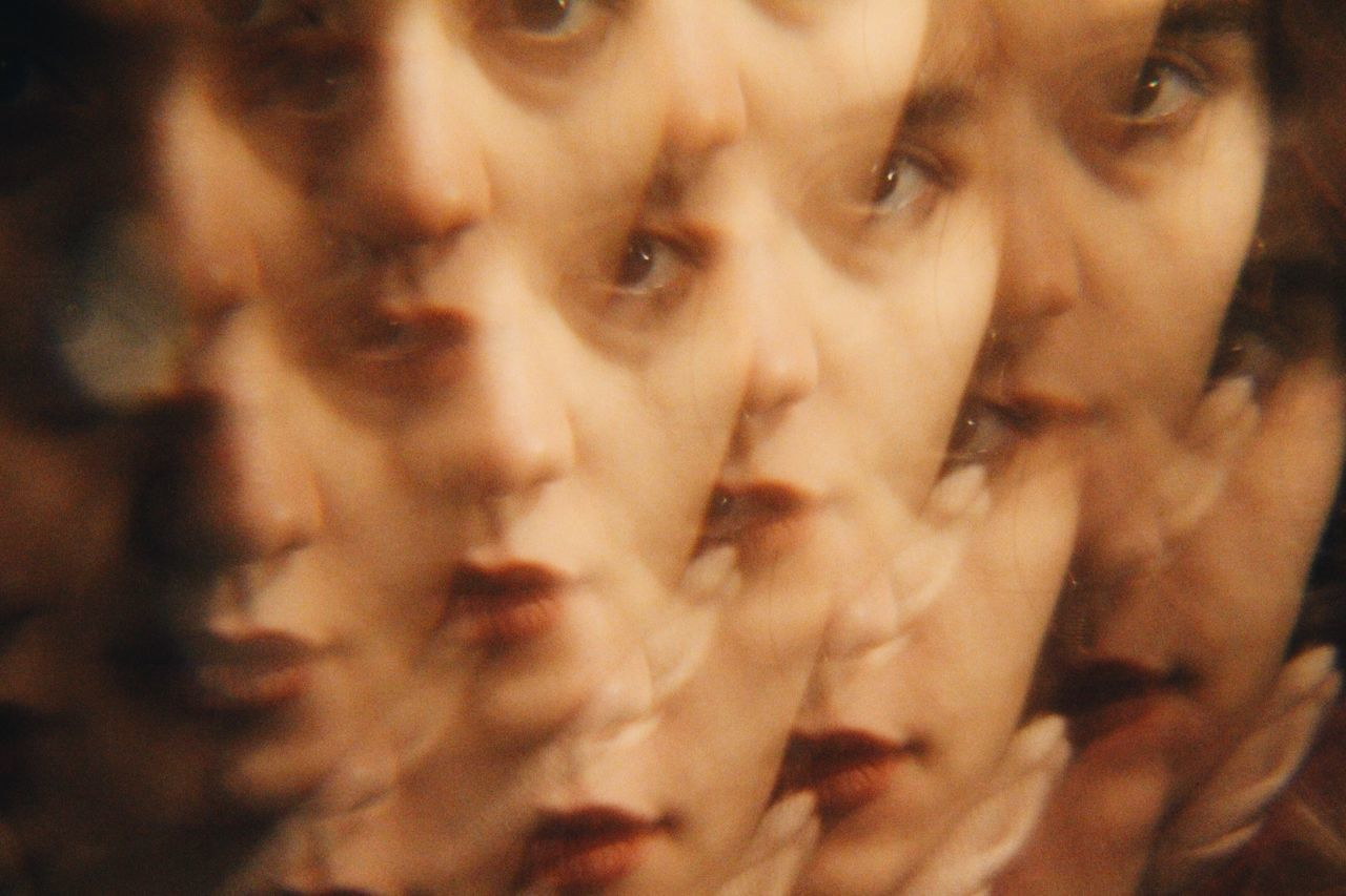 Digital Composite Image On Woman