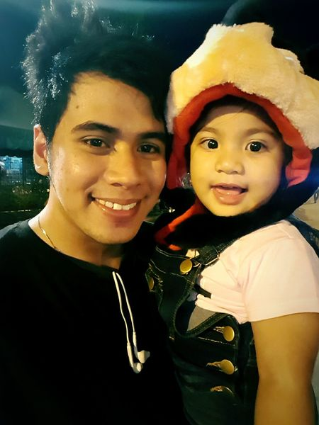 With my daughter (samsung s6 shot) Portrait Looking At Camera Togetherness Friendship Front View Leisure Activity Person Young Adult Person Person Friends