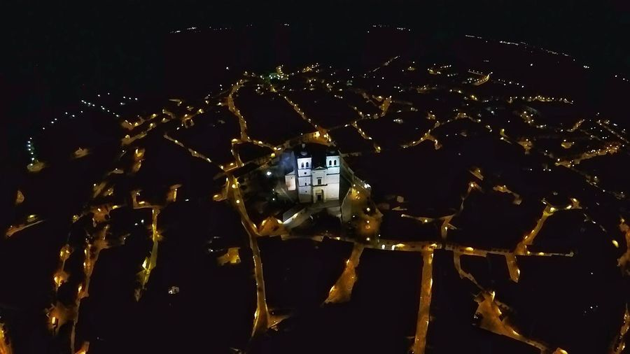 Cigales Night Illuminated No People Arts Culture And Entertainment Outdoors Sky Close-up Architecture Landscape Castillayleon Instagramer Goprokarma Photography