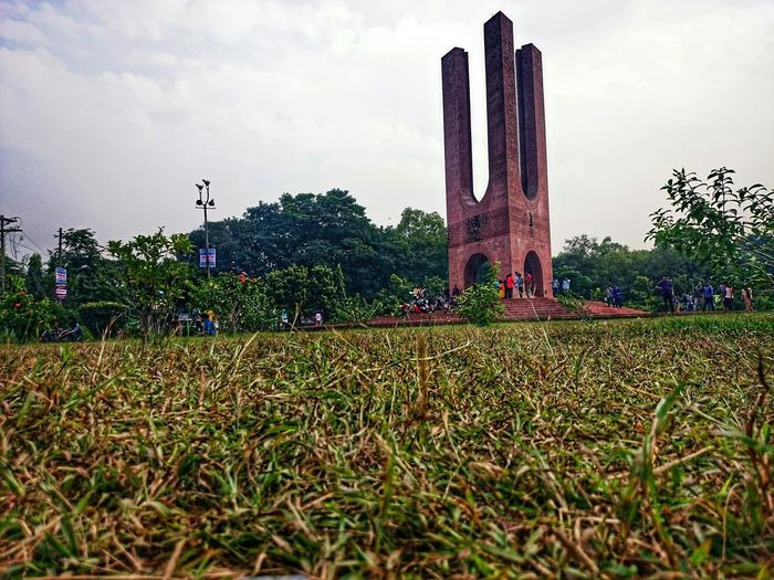 The martyr monument,Jahangirnagar University,Dhaka,Bangladesh