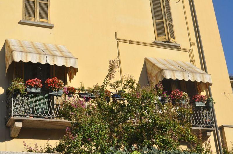 Балконы в
