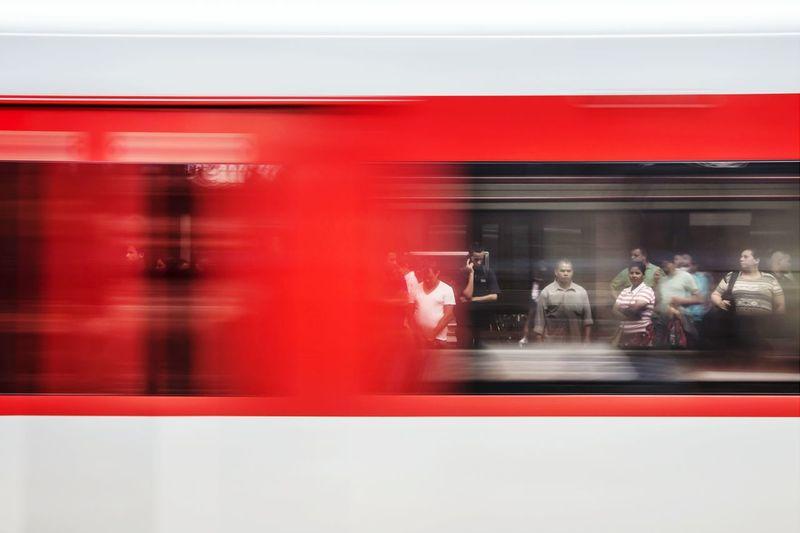 São Paulo Estação De Trem Train Station Moving Train Train Commuting Estação Da Luz Public Transportation Fine Art Photography The Street Photographer - 2016 EyeEm Awards