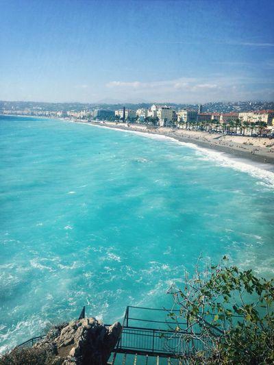 J'aime mon département , j'aime Nice , une fiérté de vive en France surtout dans le Sud de la France <3 Sea Nice06