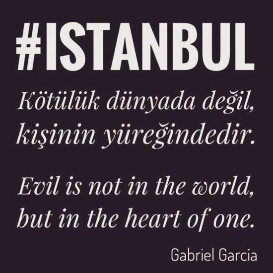 Istanbul Turkey Istanbul City Sad Day Blackday