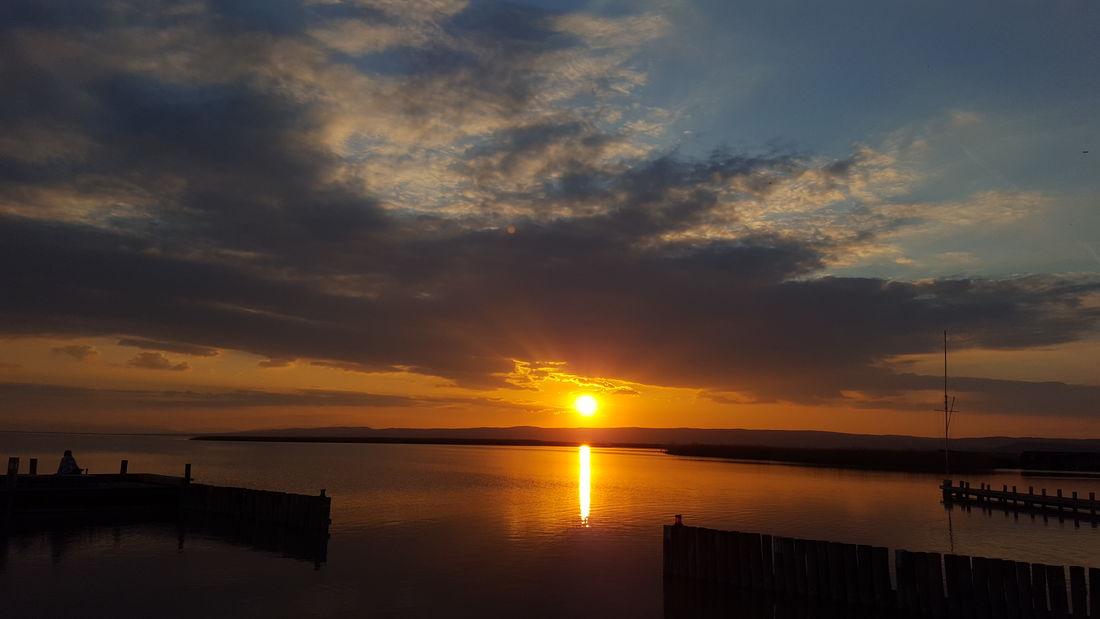 Sunset Water Cloud - Sky Dramatic Sky Sky Reflection Lake