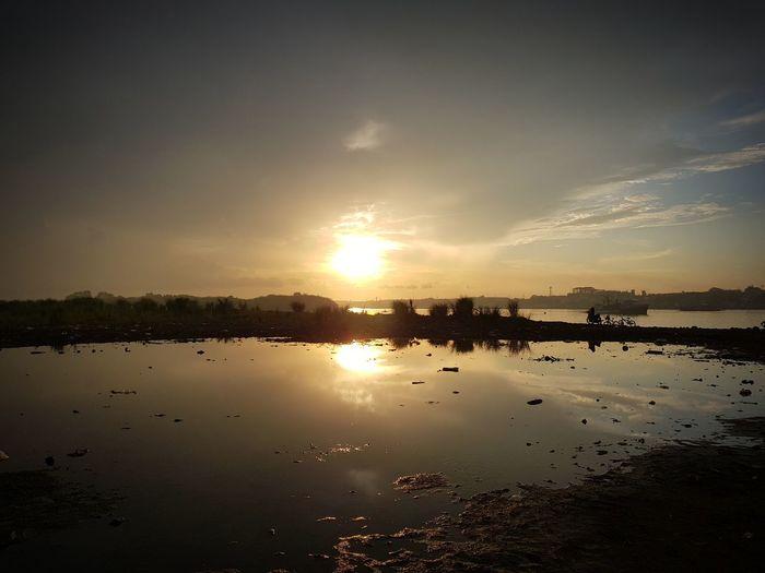 Sunrise. Nature