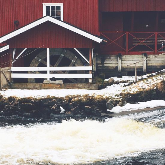 Old mill Oldmill Mill Nature Nature Photography Sweden Winter Photo Vscocam Vscogood VSCO Hobbyphotography Mobilephotography Iphonephotography IPhoneography Water Colors