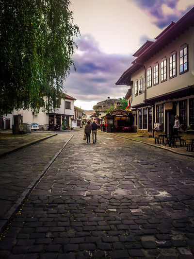 Romantic Walk Architecture Bulgaria City Landscape Old Outdoors Romantic Sky Stone Street Streetphotography Tryavna Walk This Way