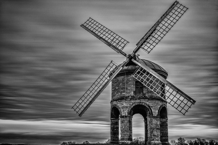 Chesterton Windmill Architecture Building Exterior Built Structure Cloud - Sky Fuel And Power Generation Industrial Windmill No People Outdoors Rural Scene Sky Traditional Windmill Wind Power Wind Turbine Windmill EyeEmNewHere