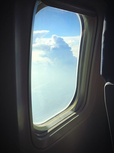 Flying home from my Vacation EyeEm Sky Clouds Clouds And Sky Flying Window From An Airplane Window Airplane Taking Photos Photography Natural Light Portrait