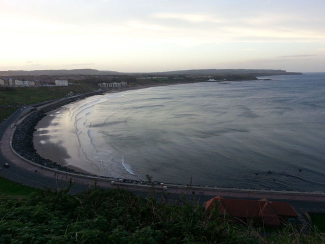 Evening light over North Bay, Scarborough Learning Photography