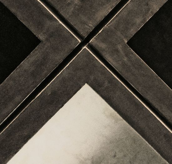 Full Frame Backgrounds Pattern Textured  High Angle View No People Day Outdoors Close-up Ceiling Cross X Monochrome Light And Shadow Symmetry Dramatic Lines Abstract The Week On EyeEm