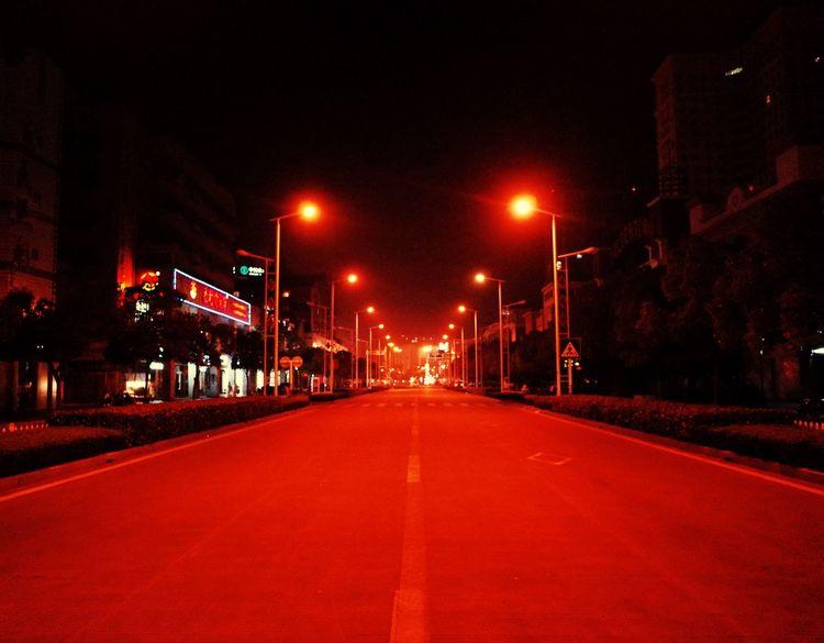 Road Nantong Nigthlight Light
