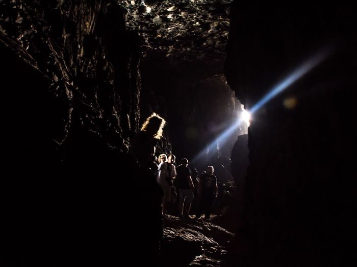 Secrets of a magic land Canary Islands Cave Light And Shadow Darkness And Light Silhouette Fuerteventura Atmosphere