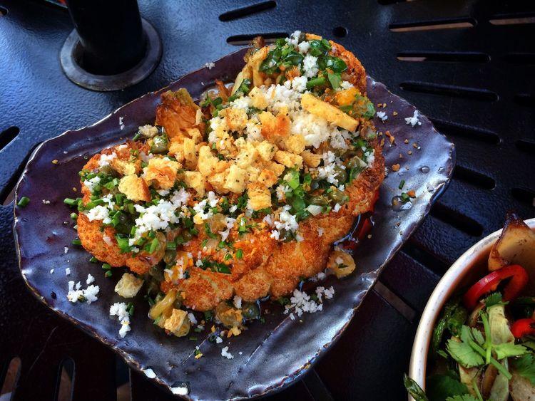 Cauliflower Steak Blumenkohlsteak Vegitarian Vegetarisch Vegatable Gemüse Gebraten Fresh Produce No Meat Here Delicious Lecker Essen