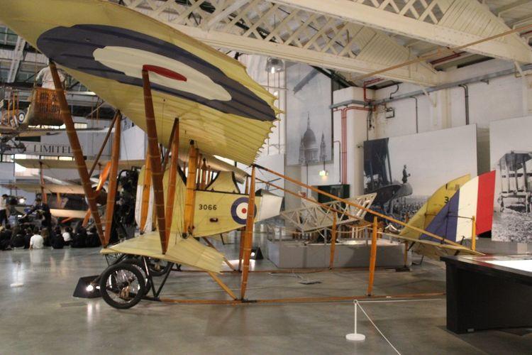 Cauldron G-3 WW1 Aircraft Day No People Transportation