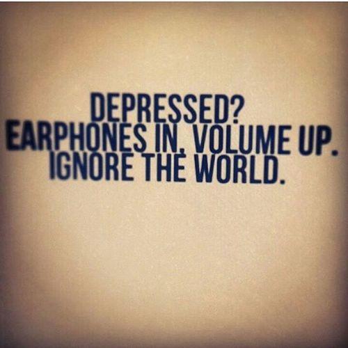 Depressed Music Missyou♥♥♥