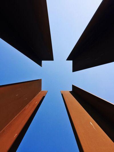Square Symmetrical Minimalism Sky Blue Sky Architecture Eye4photography  EyeEm Best Shots EyeEm EyeEm Best Edits