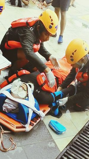 Under Pressure time for your life sir Water Rescue First Eyeem Photo