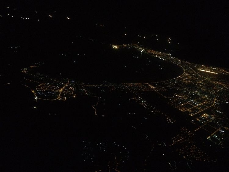 City stars ✨ From An Airplane Window Nightphotography Night Lights City Illuminated Cityscape Outdoors Aerial View Nightshot Danang TakenbyVin
