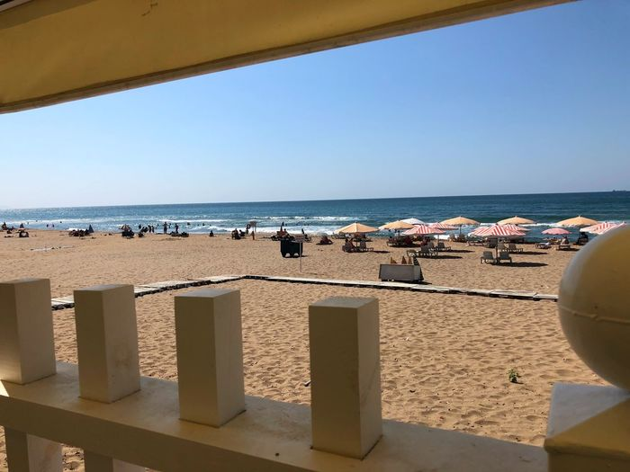 Inkumu Inkum Bartın Turkey Sea Water Beach Land Horizon Over Water Horizon Sky Sand Nature Incidental People Day Sunlight Clear Sky Scenics - Nature Beauty In Nature Architecture Vacations Holiday Trip Outdoors