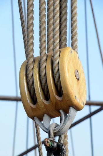 Triple pulley