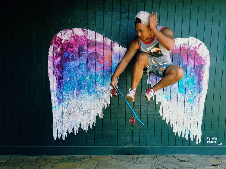 EyeEm Selects Penny Board Skatewings Take Flight! Collettemiller Oahu, Hawaii Northshoreoahu Fun EyeEmNewHere