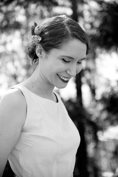 She smiles in spring. Spring Portrait Portrait Photography Portrait Of A Woman Nikond600 Nikon Tamron2470 Vintage Blackandwhite Blackandwhite Photography Black And White